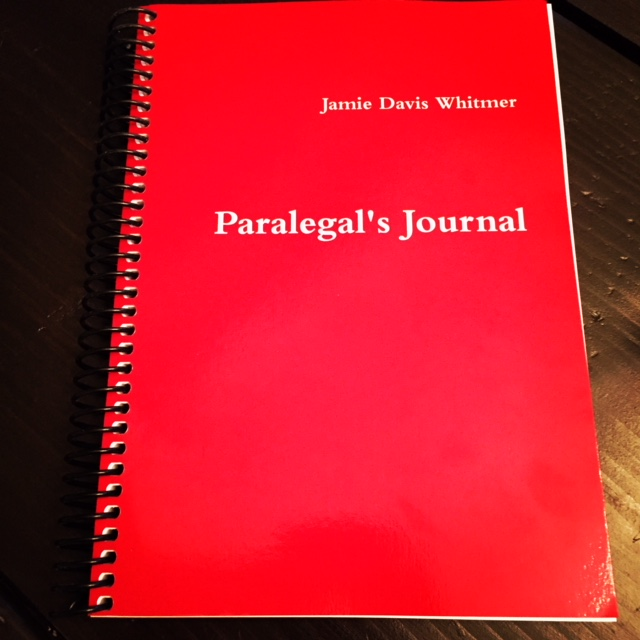 Paralegal's Journal_spiral
